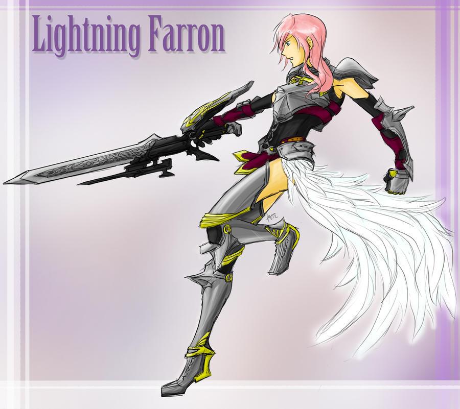 Warrior Goddess Lightning by utenafangirl
