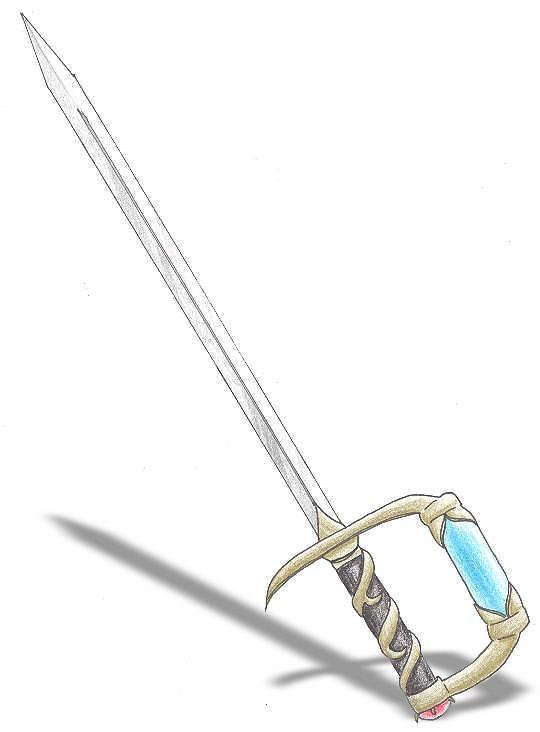 Sword of Dios by utenafangirl