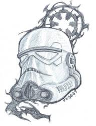 Shadow Stormtrooper by utenafangirl