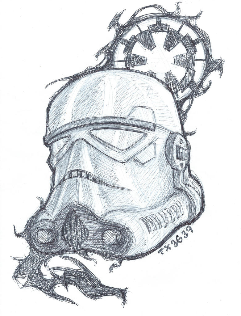 Shadow Stormtrooper by utenafangirl