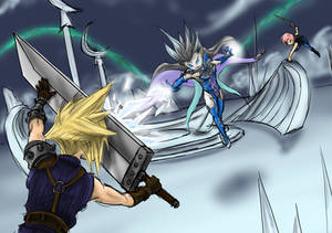 Dissidia Aces Cycle 4 Round 5 Lighting vs Cloud