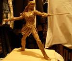 xena full body sculpture