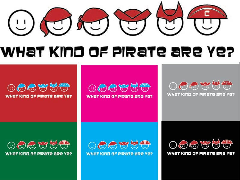 Puzzle Pirate T-shirt design by utenafangirl