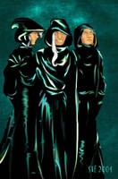 Death Eater Party by gangstersteph