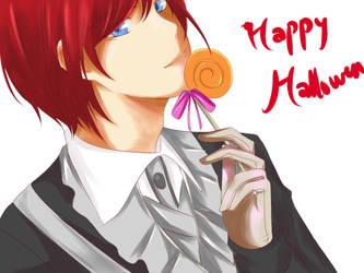 hmls: secret halloween by amyhongo