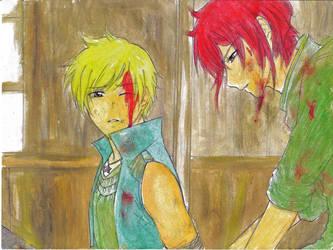 HMLS: War [4] by amyhongo