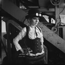 Steampunk girl V