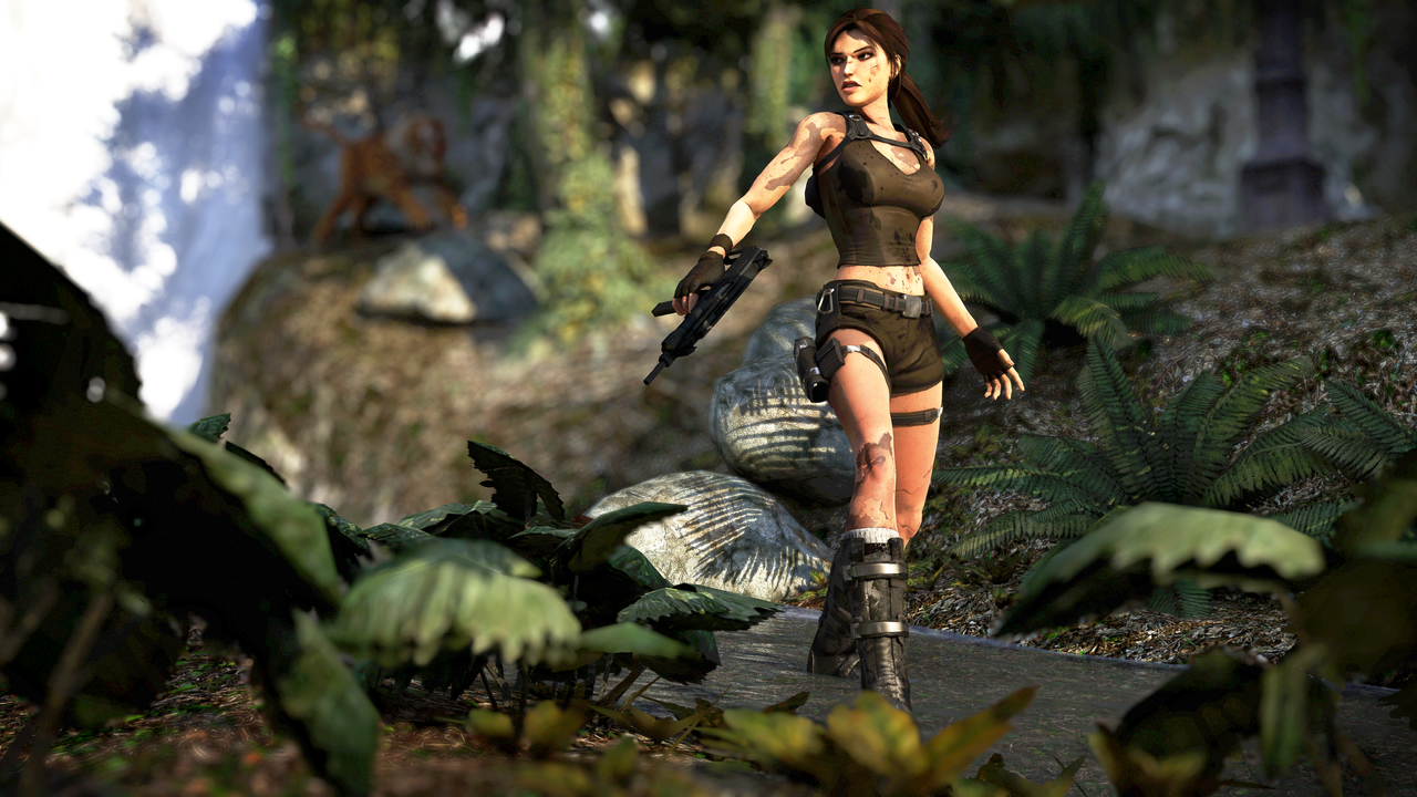 Tomb Raider: The River by SKing-TRF