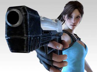 Lara Croft. by SKing-TRF