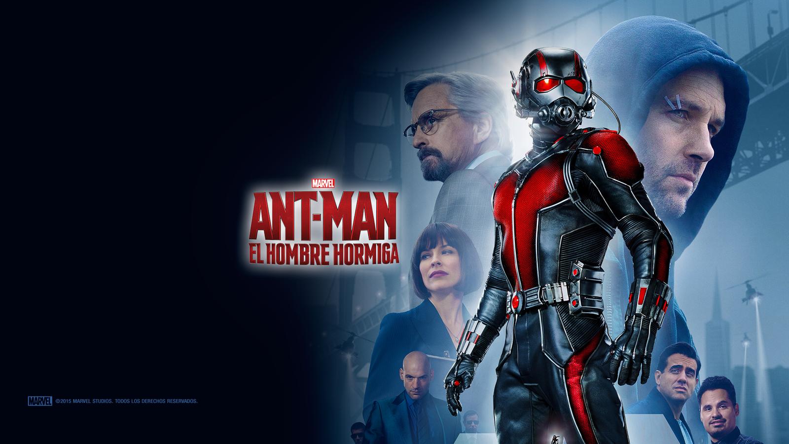 Ant Man Retina Movie Wallpaper: Primer Wallpaper Latino De ANT-MAN (2015). By DWOWForce On