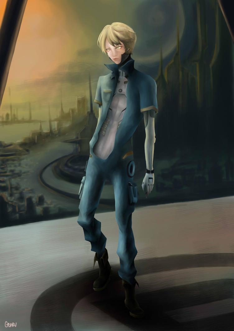 SDA-02 character by gearu