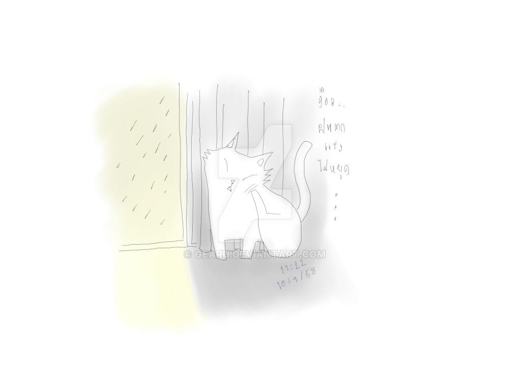 Rainny Window by gearu