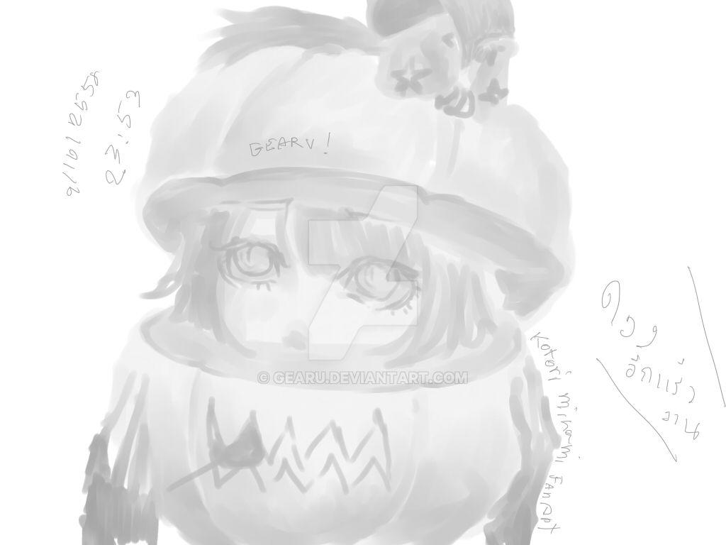 Halloween Kotori 2015 by gearu