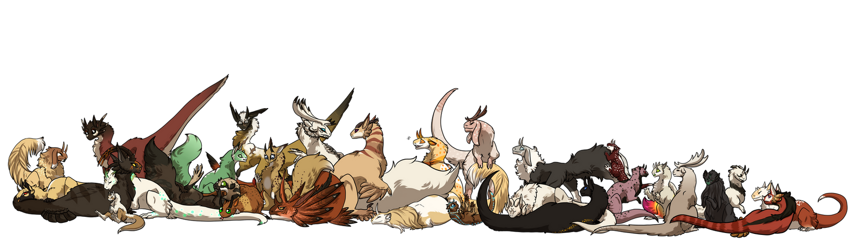 Admin Pile by Crashfurs