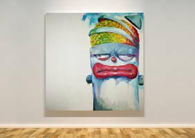 43 x 43 canvas #7