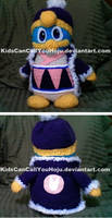 Purple King Dedede Commission by KidsCanCallYouHoju