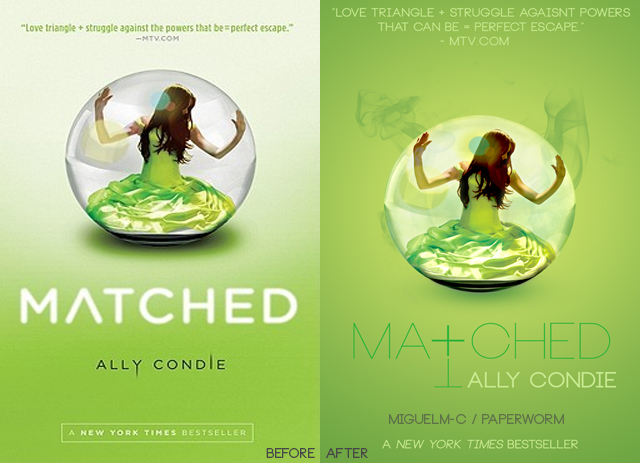 Matched Series Book Cover ~ Matched book cover remake by miguelm c on deviantart