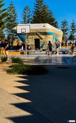 Scarborough skateboarding park 14/07/2019 by Saraeustace91