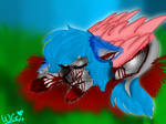 Shotdown By Blood by ARTISTwolfgirl493