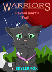 Ravenheart's Trail - Front Cover by ARTISTwolfgirl493