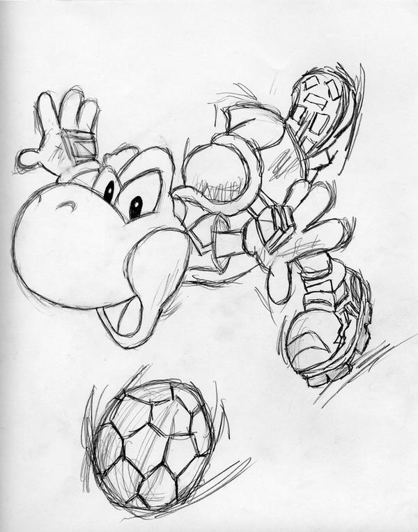super mario soccer coloring pages - photo#7