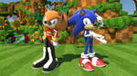 Ivo and Sonic by vicenticoTD