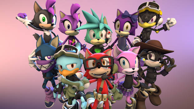 Sonic Forces - Avatar Mania