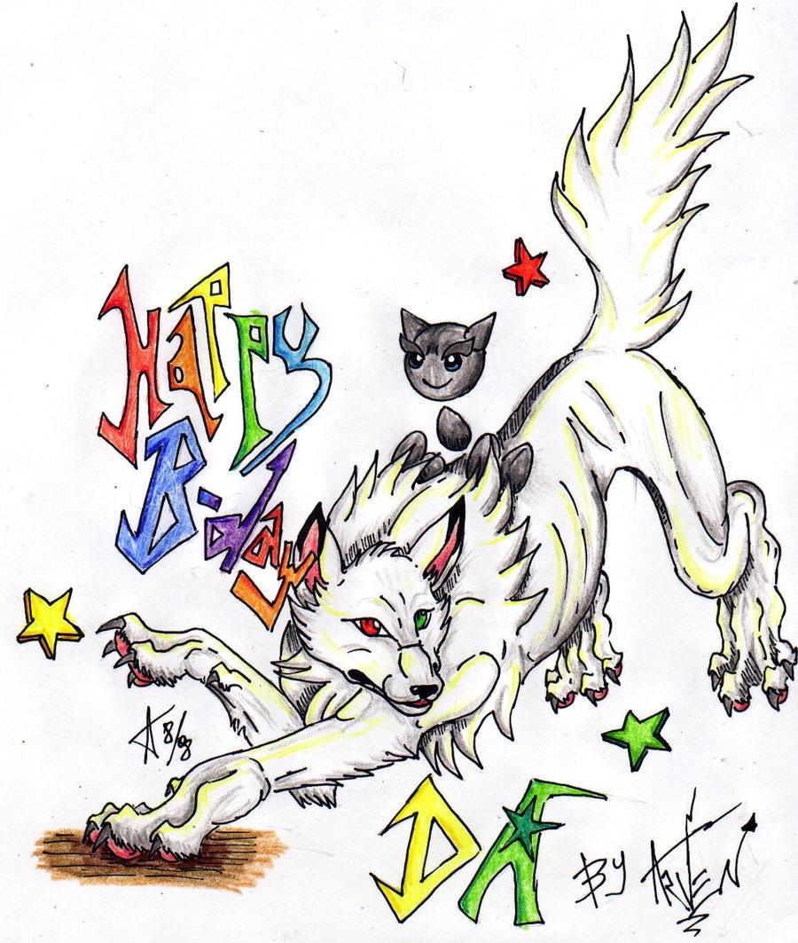 Happy Birthday DA :D by ARVEN92