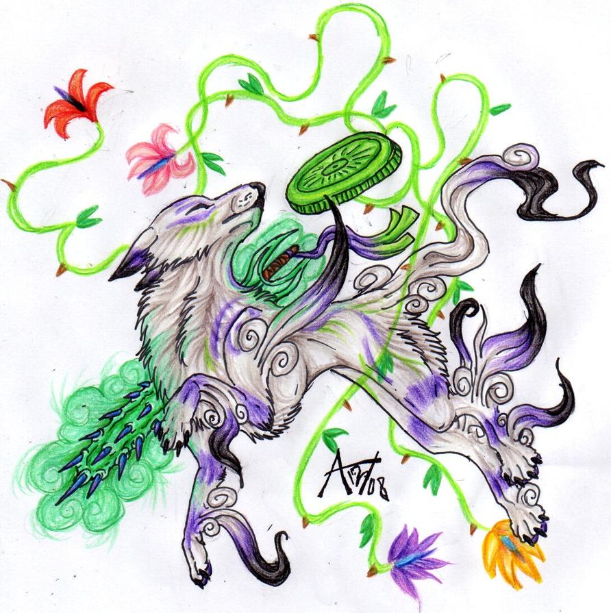 Poison Okami by ARVEN92