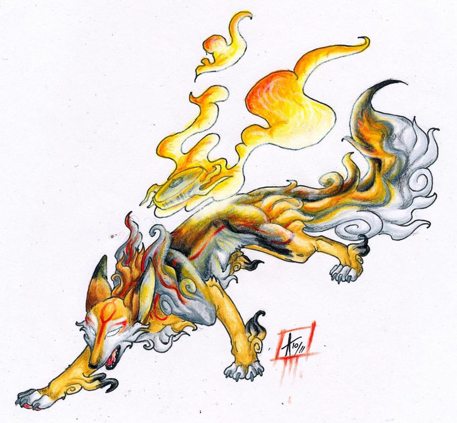 Takashi Hayashi's Jutsu List Okami_fox_by_arven92-d4d4eg2