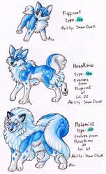 Fakemon -Husky Dogs