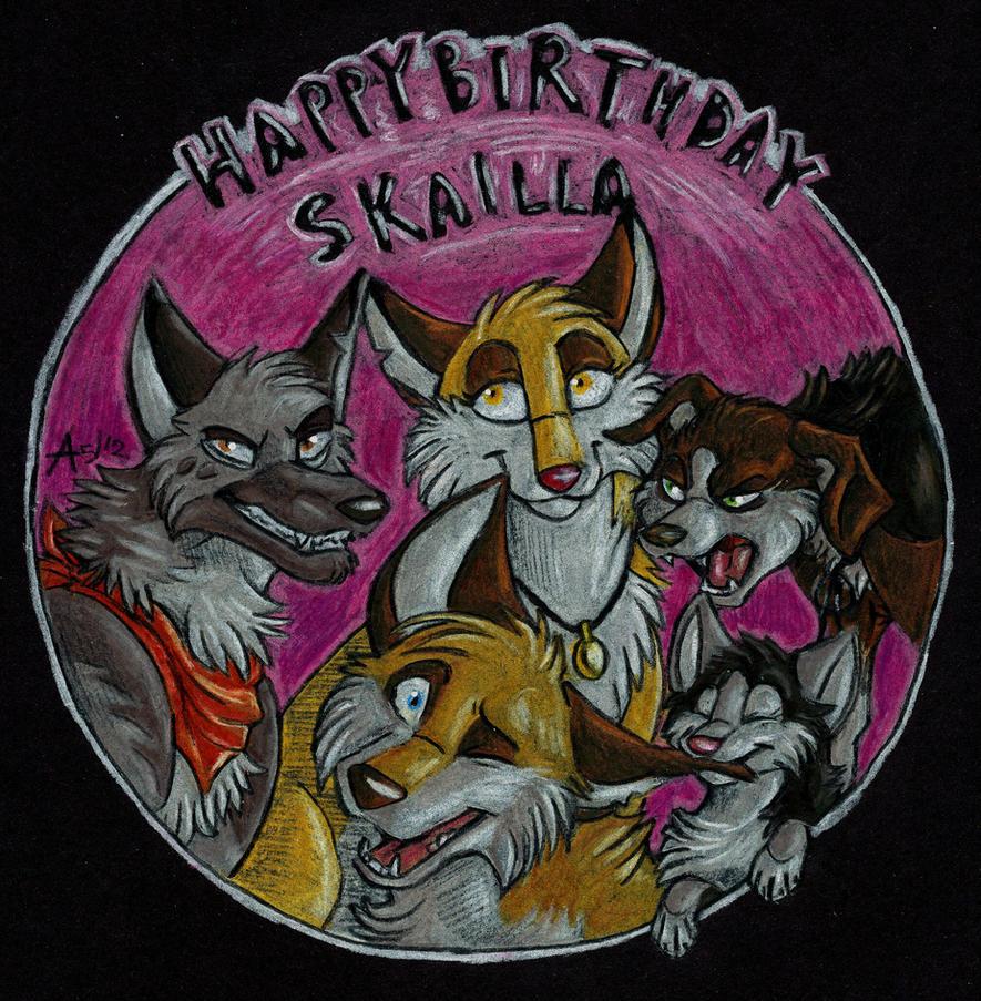 Happy Birthday Skailla! by ARVEN92