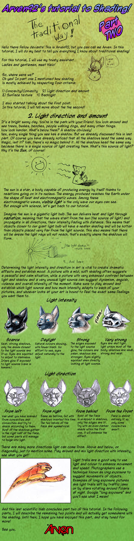 Arven's Tutorial To SHADING - Part 2 by ARVEN92