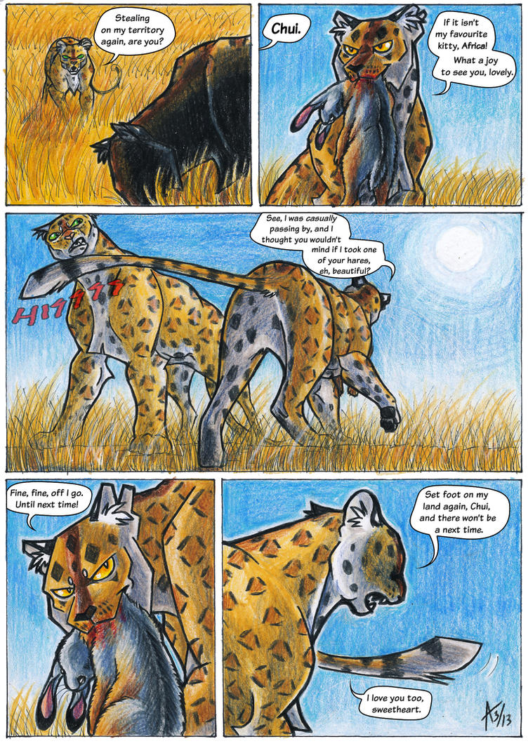 Africa Comic - Test Page by ARVEN92