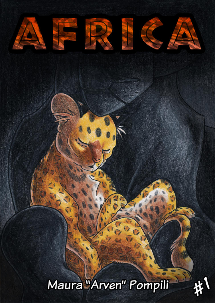 Africa Chapter 1 Cover by ARVEN92