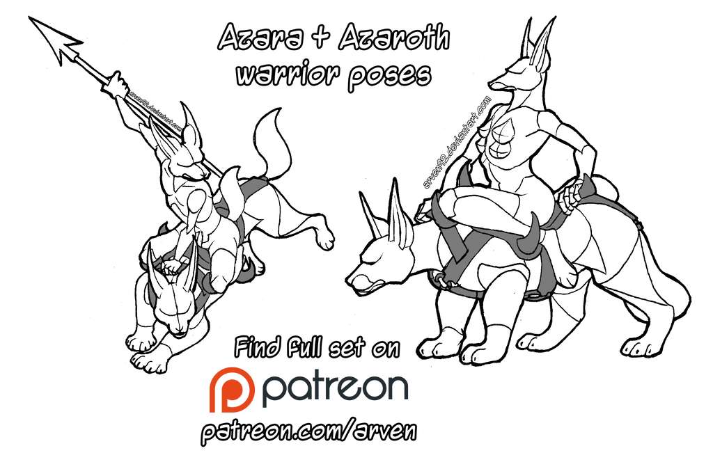 Pose Reference: Warriors + DLC by ARVEN92 on DeviantArt