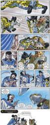 Teamwork Time - Mini Comic Promo by ARVEN92