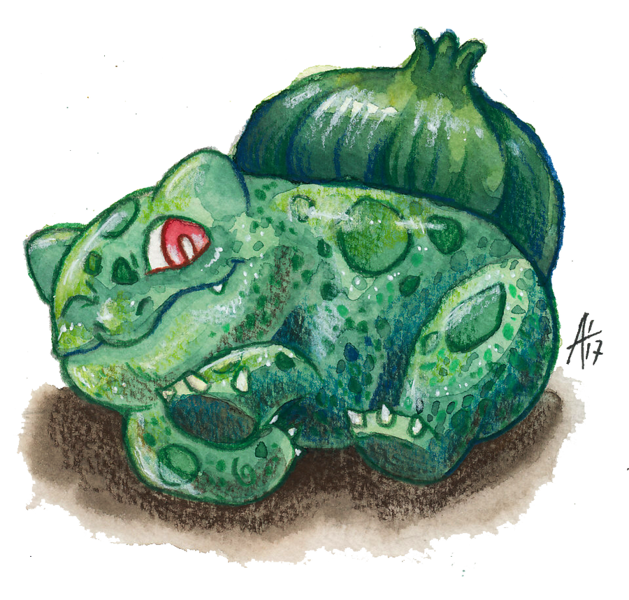 Gotta Draw 'em All: #001 BULBASAUR (With Video) by ARVEN92