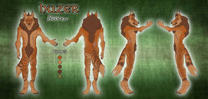 Reference Sheet: Huzer [COMMISSION] by ARVEN92