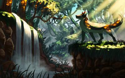 Jungle Ruins [COMMISSION]
