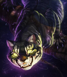 Cheshire Cat [PATREON REWARD] by ARVEN92