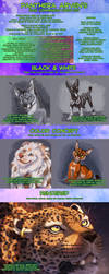 Arven's 2019 Commission Price Sheet by ARVEN92