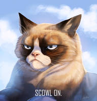 Scowl On.