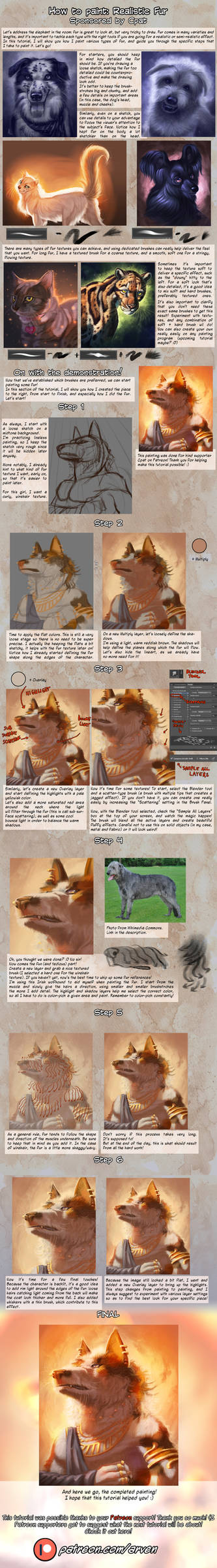 Patreon Tutorial: How To Paint Realistic Fur