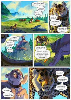 Chui Meets His Match - Page 1 [COMMISSION]