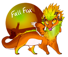 Fall Fox [closed] by pseudodragons-den