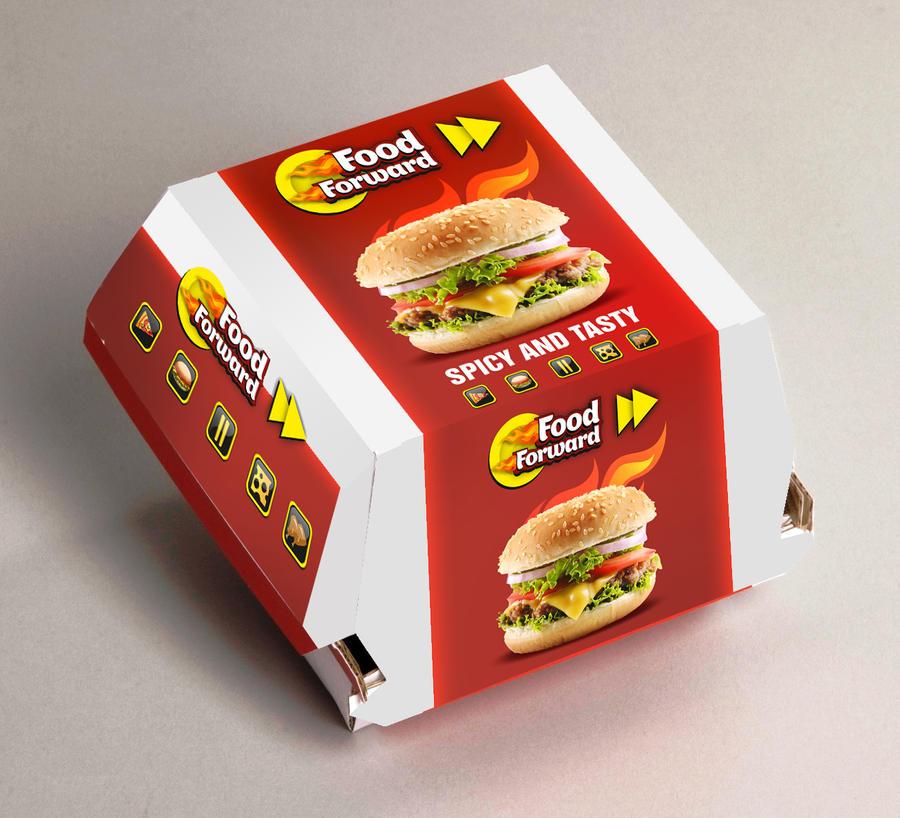 Burger Packaging By Haroonqiyam On Deviantart