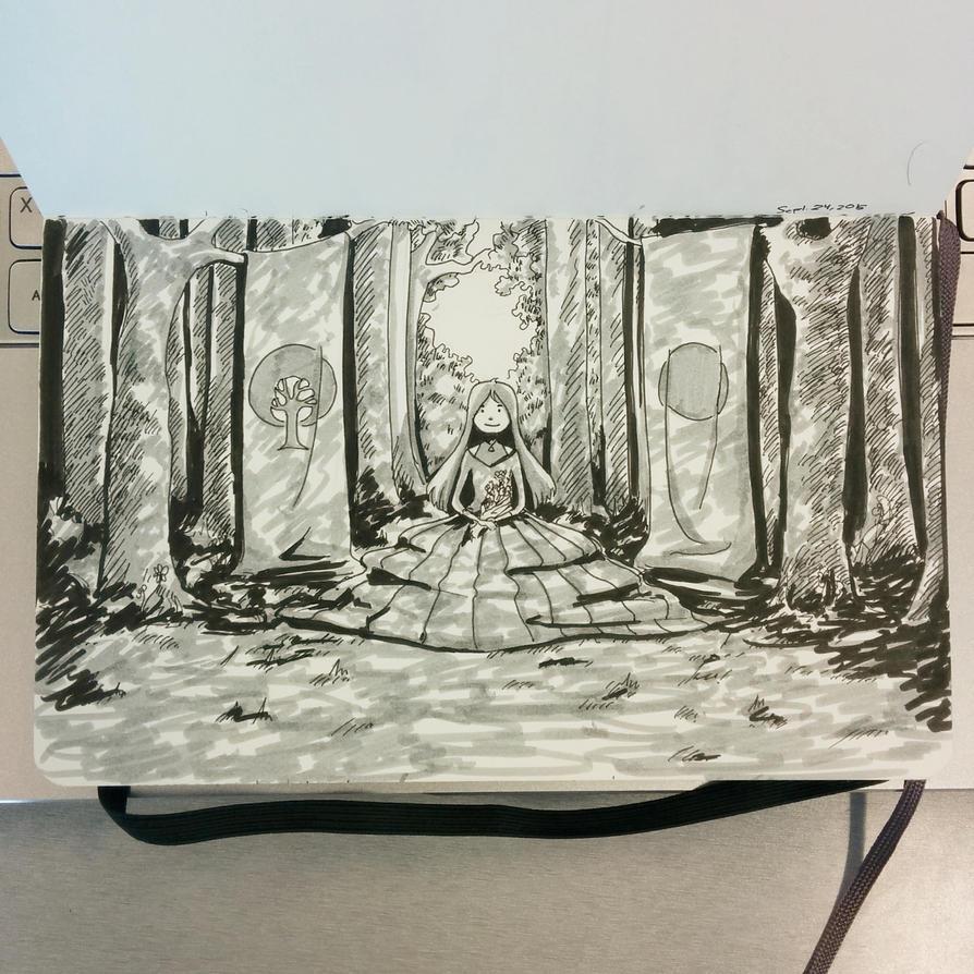 Forest by Alythefab