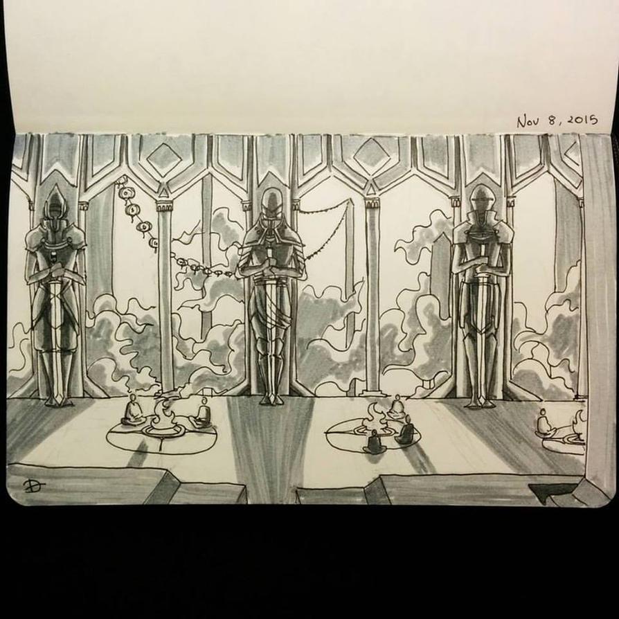 Sky Monks by Alythefab