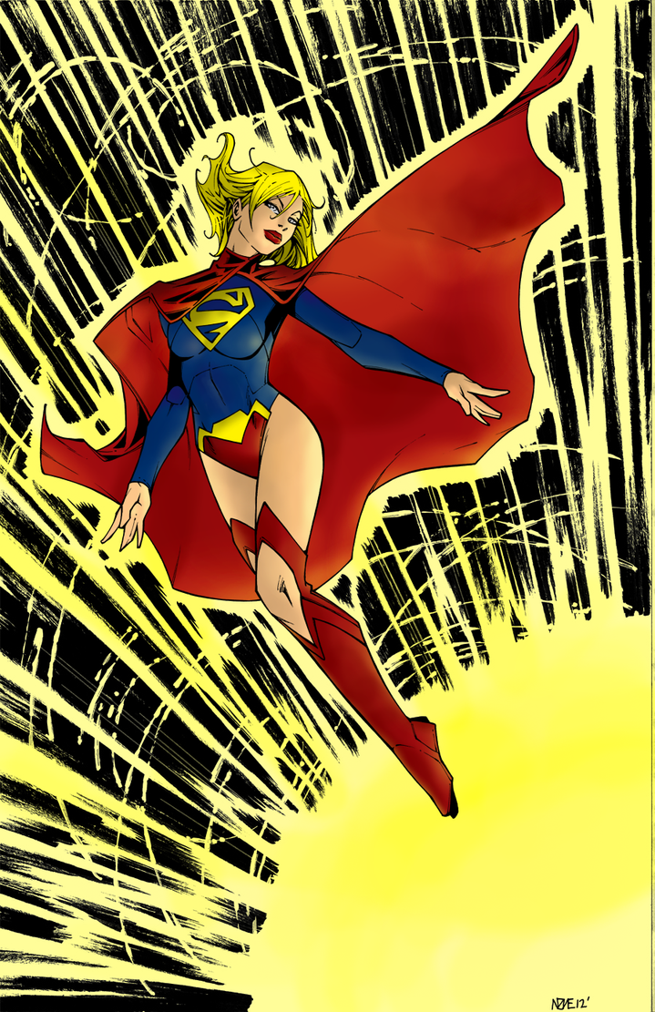 SuperGirl Colors by princeofknaves
